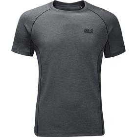 Jack Wolfskin Hydropore Athletic t-shirt Heren grijs